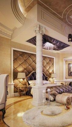 ♥ ~ The Millionairess Mansion ~ ♥ ~  ****Muhammad Taher luxury bedroom