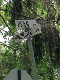 milena2052:  xthrough-the-darkx:  saw this while driving today. you're welcome supernatural fans.  A crossroad? Really?