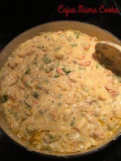 Crawfish Fettucine...like seriously the best stuff ever