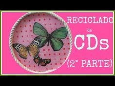 Cómo reciclar CDs viejos de una manera original y sencilla