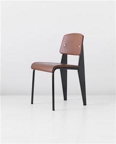 'Métropole' chair, model no. 306, Manufactured by Les Ateliers Jean Prouvé, France., c.1952