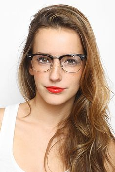 af6a0707b1 clubmaster eyeglasses glasses- now just imagine these glasses on an older  woman with grey hair