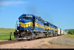 RailPictures.Net Photo: RCPE 6404 Rapid City, Pierre, & Eastern EMD SD40-2 at Rapid City, South Dakota by Mike Armstrong