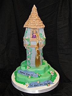 Tangled Rapunzel Cake idea