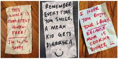 """People Can't Get Enough of This Dad's Hilarious """"Napkinisms""""  - Redbook.com"""
