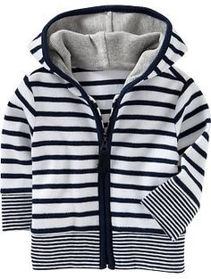 Stripped hoodie, so baby J can be a part of the nautical trend.