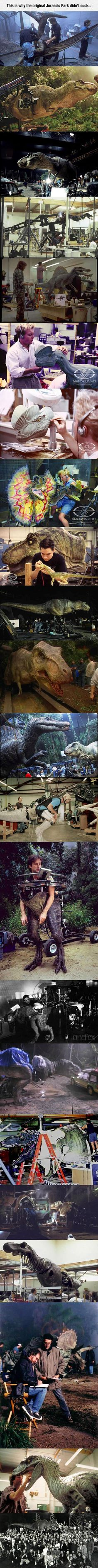 After seeing the first Jurassic Park, I always had dreams of being in the era where they still roamed the earth. I appreciate this dreams now that I am older!