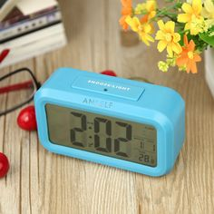 Do you want to have a home decoration that not only can decorate your living room or bed room, but also possesses very strong practical value. If so, this LED digital #alarmclock will be your best choice, it with large LCD displays, can display time, calendar, temperature at the same time, and have alarm function.