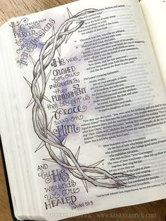 Bible Journaling | Krista Hamrick Illustration