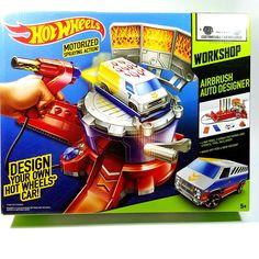 Hot Wheels Workshop Airbrush Auto Designer Custom Car Playset