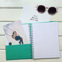 Detalhe interno dos nossos cadernos