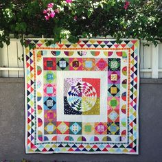 Love this Medallion Quilt--now Janice at Better Off Thread has provided a generalized tutorial. I'd say it  goes hand-in-hand with her fine book.
