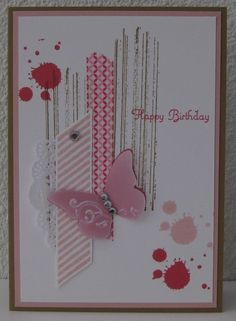 Stampin' Up! Birthday: Gorgeous Grunge