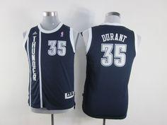 NBA Youth #35 black jersey
