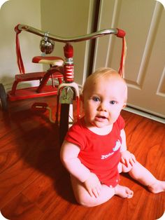 One day Radio Flyer tricycle...