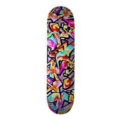 Skateboard-Abstract/Misc Art-Graffiti Gallery 11