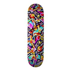 Skateboard-Abstract/Misc Art-Graffiti Gallery 11