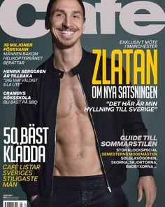 cafemagazine Nytt nummer av Café ute nu! Zlatan! Snyggaste sommarstilen och Sveriges 50 bäst klädda män. New number of Café out now! Zlatan! The coolest summer style and Sweden's 50 best-dressed men.