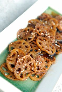 Japanese Simmered Lotus Root   the taste space