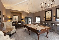 Quite the man cave...so sexy it could the Lady's Boudior