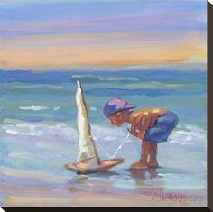 Sailor Stretched Canvas Print at AllPosters.com