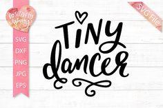 Short Dance Quotes, Drawing Quotes, Ballet Girls, Tiny Dancer, Silhouette Machine, Design Bundles, School Design, Cricut Ideas, Svg File