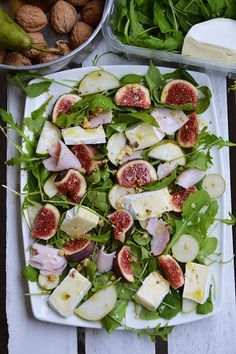 Fruit Recipes, Salad Recipes, Healthy Recipes, Fancy Dishes, Slow Food, Healthy Cooking, Food Inspiration, Snacks, Food Photography
