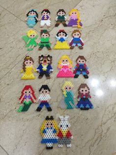 Favourite Disney Characters : Jasmine & Aladdin, Flynn & Rapunzel, Tinkerbell & Peter Pan, Snow White & Prince, Belle & Beast, Aurora & Prince Philip, Ariel & Prince Eric, Elsa & Anna & Alice & White Rabbit
