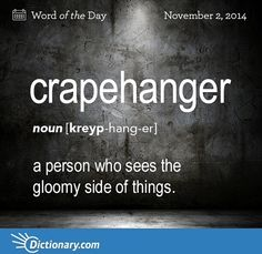 Crapehanger