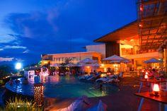 Blue hour at Sheraton Bali Kuta by Nathalie Stravers on 500px