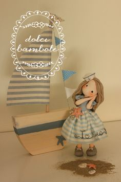 Dolci bambole - Porcellana fredda - polymer clay