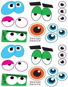 olhos monstruosos