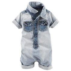 Baby Boy OshKosh B'gosh® Striped Romper