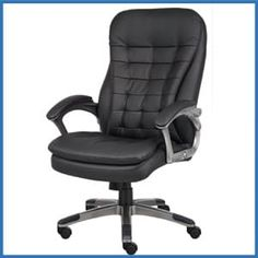 10 best top 10 best high back office chairs in 2018 reviews images rh pinterest com