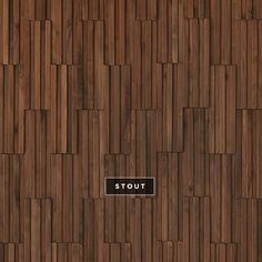 Parallels wallcoverings from the Inceptiv Collection. Available in 13 colors, shown here in Stout. Wood Slat Wall, Wood Panel Walls, Wood Veneer, Wood Paneling, Screen Design, Wall Design, Wall Patterns, Textures Patterns, Acoustic Wall Panels