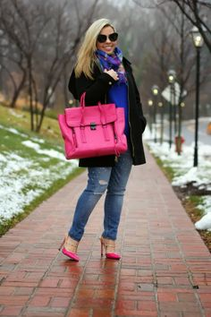 Colorful Winter Look of the Day by Ana In Style