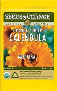 Seeds of Change S14529 Certified Organic Orange Zinger Calendula by Seeds of Change. $4.99. Seeds of change contributes 1-percent of net sales to advance the cause of sustainable organic agriculture worldwide. Independently tested for high germination rates and purity and meets or exceeds federal standards. 100-Percent certified organic seeds grown in the USA for over 20-year. Hermetically sealed package that is re-sealable gives longer life and higher germination rates. Free of ...
