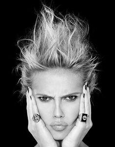 Heidi Klum, I adore her.