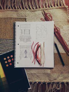 Weaving designs by Maryanne Moodie  www.maryannemoodie.com