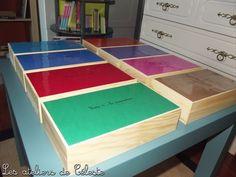 Les boîtes de grammaire Montessori ++