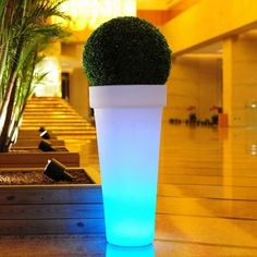 Donica podświetlana led Jirafe 95 acu Bliss Design