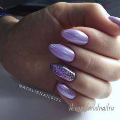 Purple Nail Art, Purple Nail Designs, Nail Art Designs, Violet Nails, Mauve Nails, Metallic Nails, Milky Nails, Nail Effects, Chrome Nails