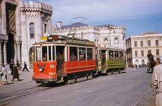 Eski İstanbul: Beşiktaş - Fatih tramvayı