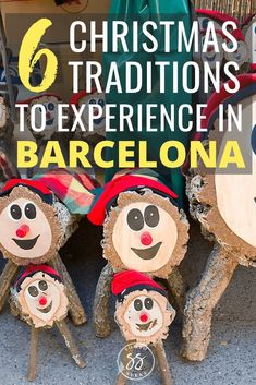 Here are 6 unique Christmas traditions in Barcelona. If you're visiting Barcelona over Christmas, you must experience these Catalan Christmas traditions. Christmas Travel, Christmas Vacation, Holiday Travel, All Things Christmas, Christmas Markets, Christmas Trips, Christmas 2019, White Christmas, Overseas Travel