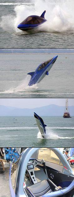 Shark-Like Watercraft You Can Actually Ride - TechEBlog