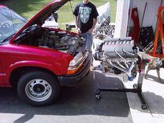 s10 + t56 + TURBO + LS1 = Schwab Shop Customs - S-10 Forum Ls Engine Swap, Car Engine, Isuzu Motors, S10 Truck, Sport Truck, Ls Swap, Chevy S10, Chevrolet Blazer, Aluminum Radiator