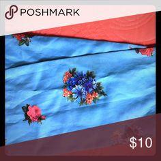 🌼Vintage 50s era floral print scarf 🌼 Very well preserved '50s era vintage silky scarf Accessories Scarves & Wraps