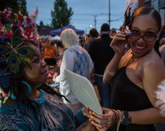 Lined with shops, galleries, restaurants and bars, Northeast Alberta Street erupts into a colorful street fair on the last Thursday of every month.
