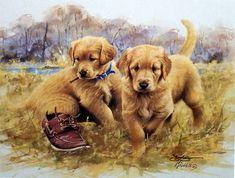 James Killen That's My Puppy-Golden Retriever