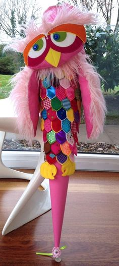 """Schultüten - RESERVIERT Schultüte Zuckertüte """"Eule"""" - ein Designerstück von frech-und-frei-by-lala bei DaWanda"""